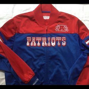 Patriots track jacket, Mitchell & Ness,NWOT,  XL